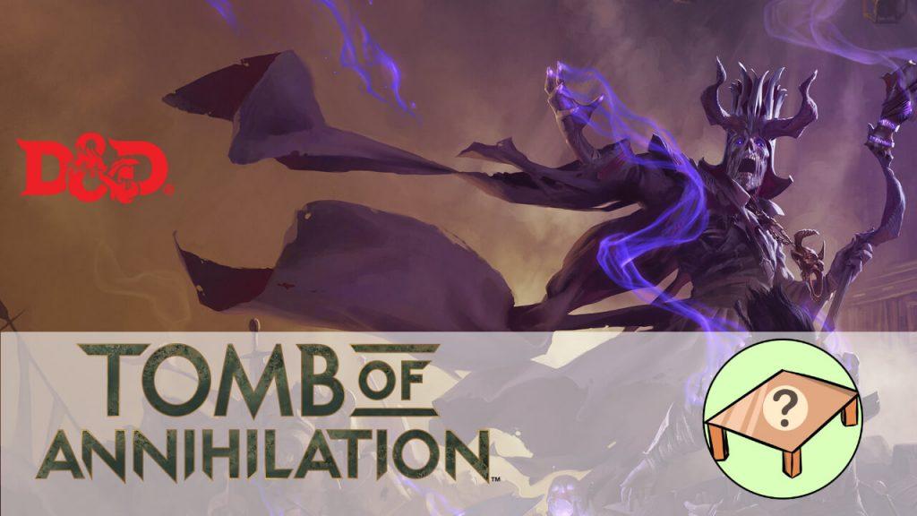 tomb of annihilation juego de mesa