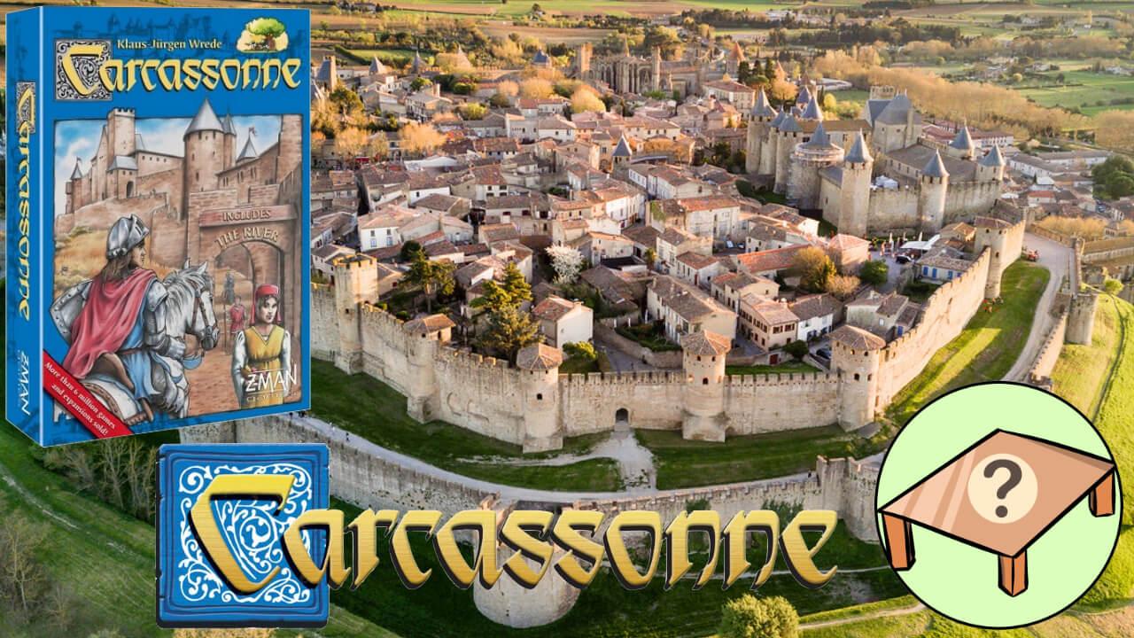 Carcassonne juego de mesa reseña