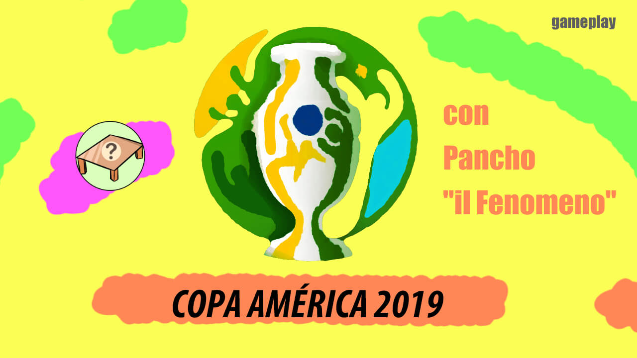 Copa América con Pancho il Fenomeno