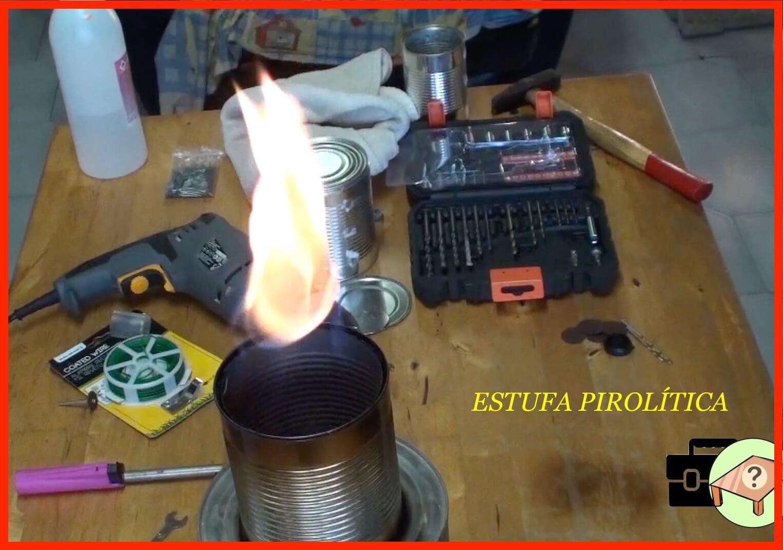 como hacer una estufa pirolitica casera