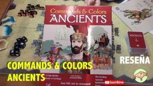 Commands & Colors Ancients reseña