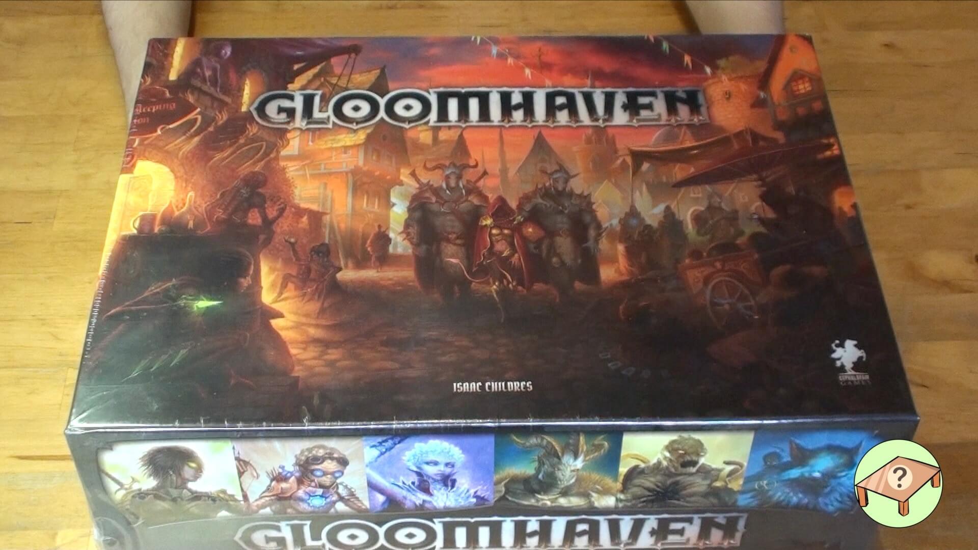 Gloomhaven juego de mesa español