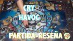 Cry Havoc juego de mesa reseña como jugar